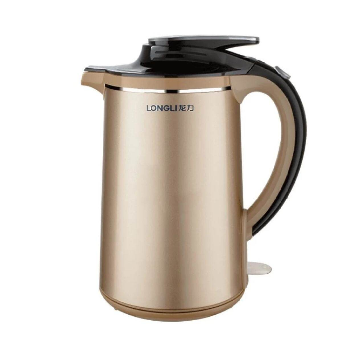 Longli LL-8801 Food Grade 304 Stainless Steel Household Insulation Electric Kettle Kettle Fast Automatic Power-off