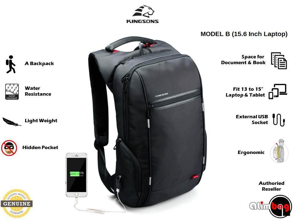 ... Power Series Smart Anti-Thief Travel Outdoor Business Casual 15.6 17.3  Inch Waterproof Laptop Backpack For Men Women External USB Charge Computer  Bag ... 1b203c42184f2