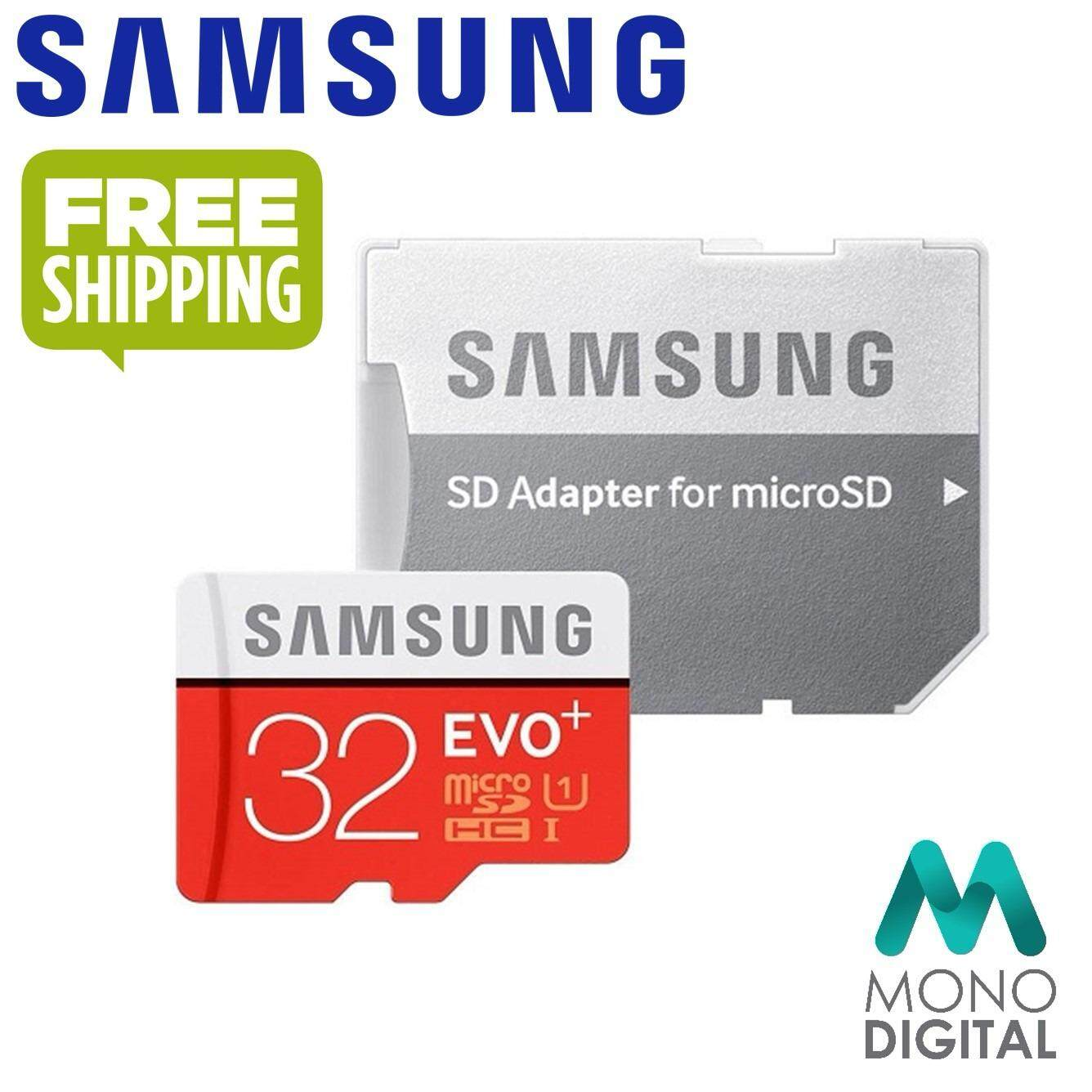 Samsung 32GB 95MB/s Micro SD Evo Plus Class 10 MicroSDHC UHS-I with FREE Adapter