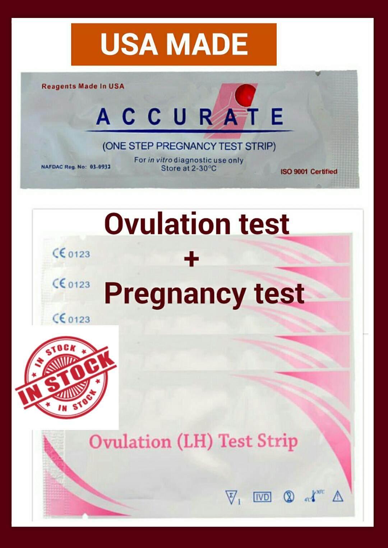 B kit: 20 Ovulation Test + 20 pregnancy test
