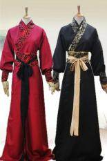 Fashion Chinese Men Han Clothing Chevalier Scholar Photo Show Cosplay Suit Robe Costume – intl