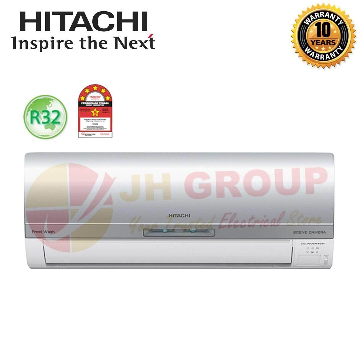 (NEW) HITACHI RAS-VX10CJ 1HP R32 GAS PREMIUM INVERTER AIR COND