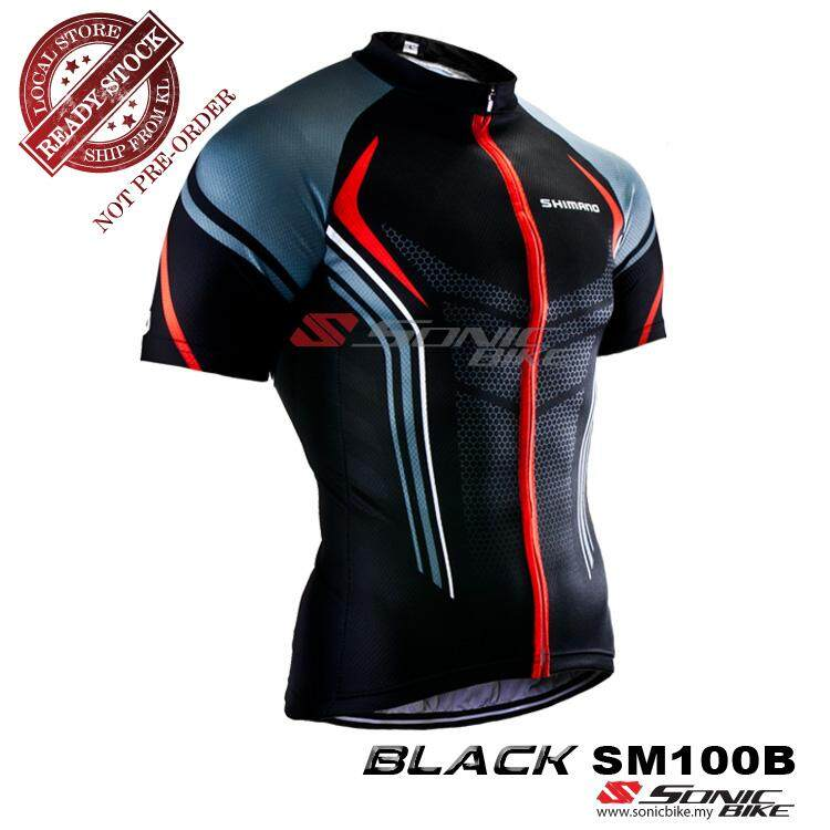 READY STOCK [ FREE RETURN ] Shimano Cycling Jersey - SM100B