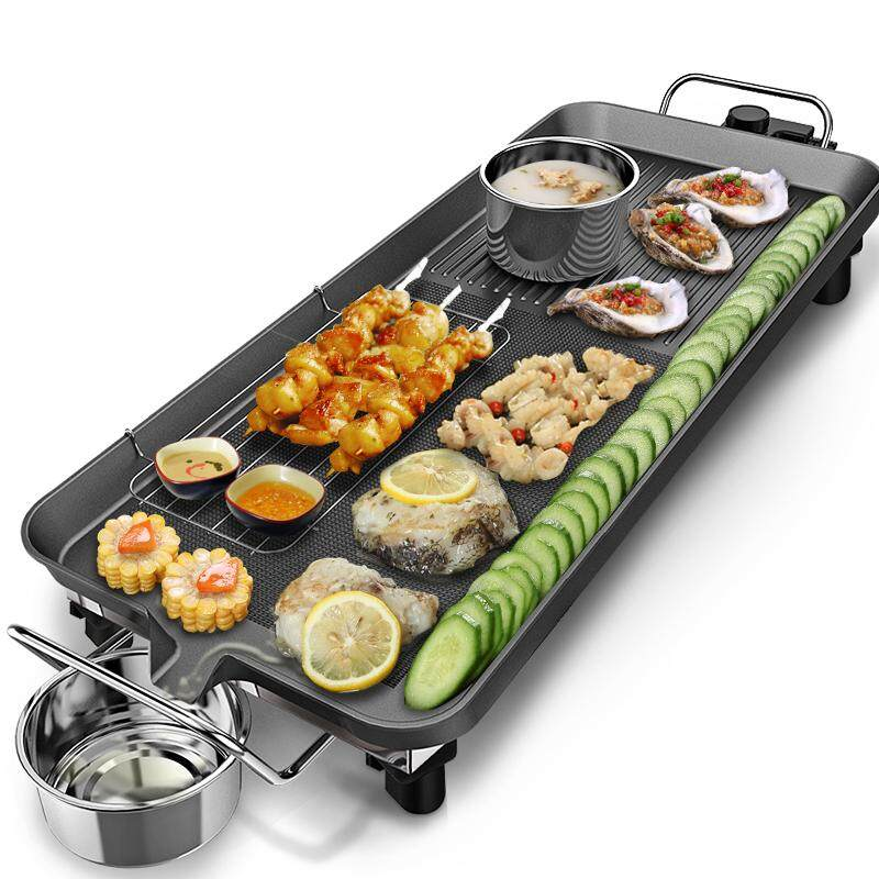High-End Korean Electric Baking Pan, Home Business Smokeless Stone Medical Environmental Protection Non Stick Coating Oven Rack By A Super Businessman From A Foreign Country.