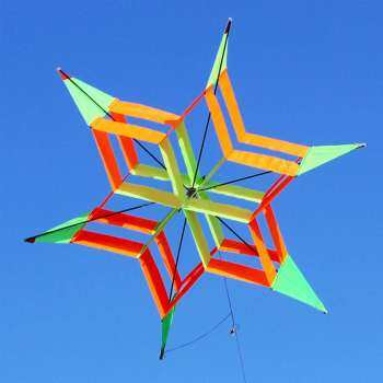 3D Colorful Flower Delta Kite Single Line Outdoor Fun sport Kids Toy Easy Fly