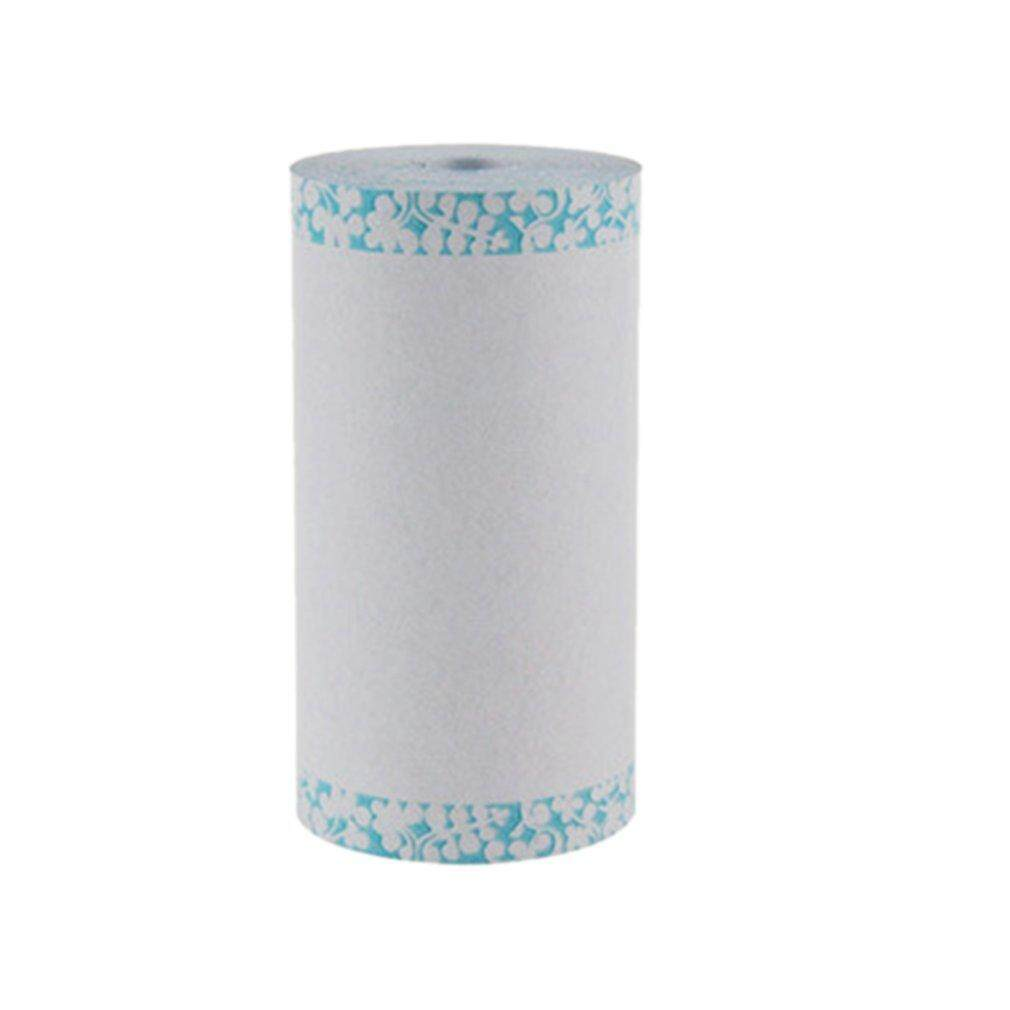 BELLE  Non-Fade Photo Printer Long Service Life Photo Printing Thermal Printing Paper blue floral
