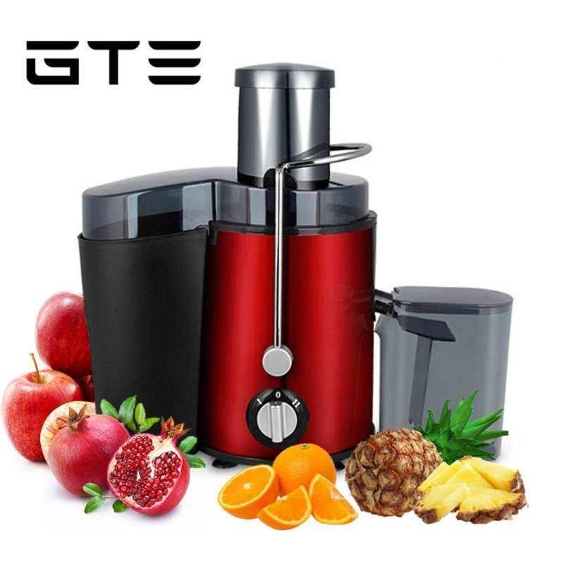 GTE Juicer Multifungsi Mesin Pembuat Jus Elektrik 400 W dengan Kecepatan Ganda