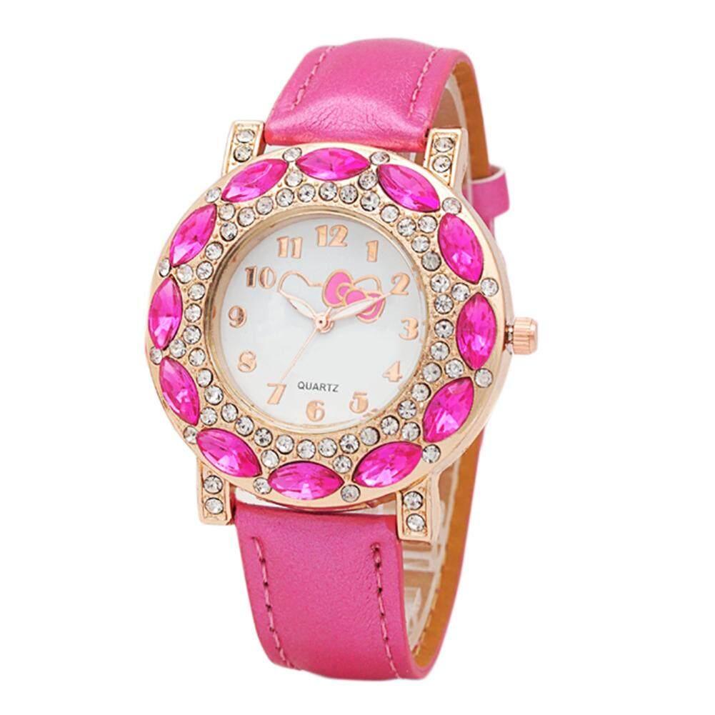 59f696956 Hot Sales Girls' Fashionable Cute Cartoon Watch with Lovely Hello Kitty  Pattern Children's Quartz Wristwatches ...