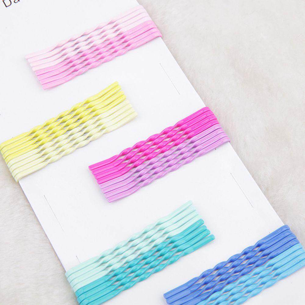 Simple Useful Hairpin Wave Barrette Spiral Side Clip Bobby Pin Hair Pins Hot