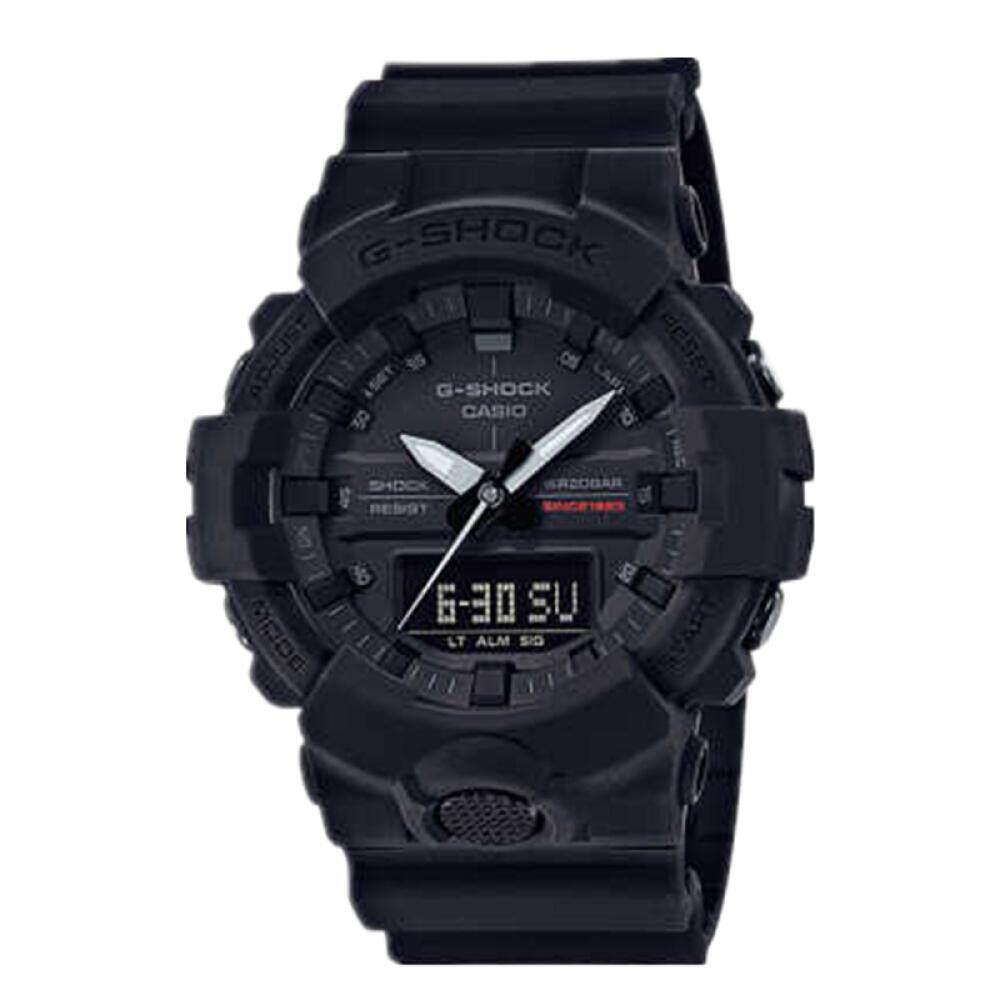 สอนใช้งาน  บุรีรัมย์ 【 STOCK】Original _ Casio_G-Shock GA835 Duo W/เวลา 200M กันน้ำกันกระแทกและกันน้ำโลกนาฬิกากีฬาไฟแอลอีดีอัตโนมัติ Wist นาฬิกากีฬาสำหรับ MenGA-835A-1A สีดำ