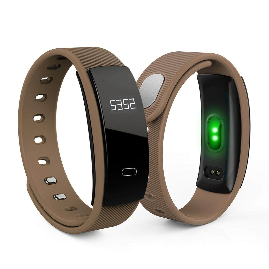QS80 Wristband Heart Rate Monitor Blood Pressure Monitor Smart Watch Sports Reminder Smart Bracelet For IOS And Android