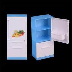 Tủ Lạnh nhà Dành Cho Búp Bê Barbie Phái Sinh Sản Phẩm Búp Bê Đồ Nội Thất Nhà Búp Bê Trang Trí