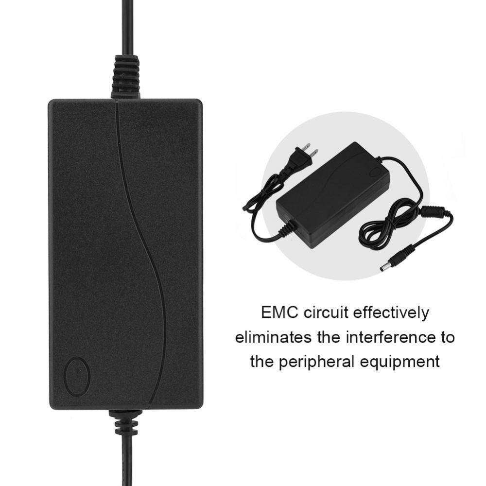 48V Charger Adapter 2A AC DC Switching Power Supply Charger Adapter 5.5*2.1 mm for POE /CCTV/ LED Display - intl
