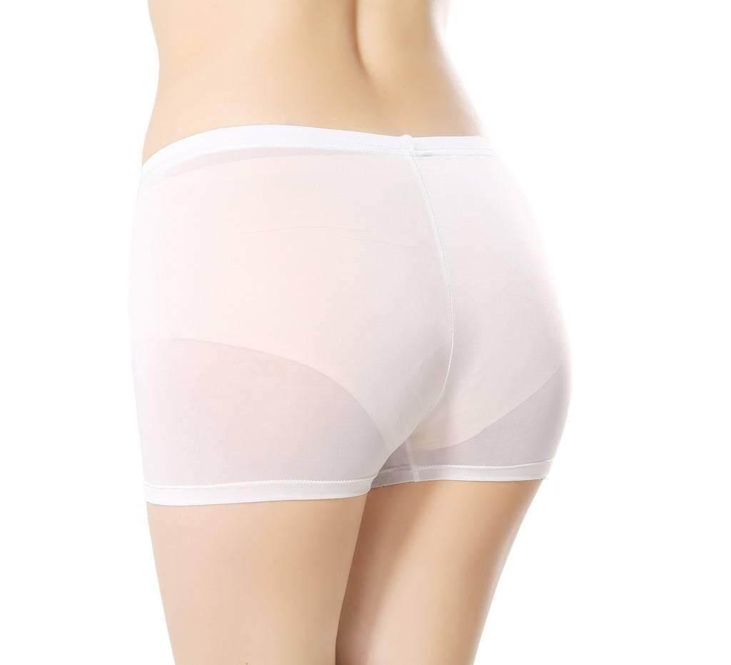 Bigood Women Girls Ice Silk Seamless Safety Shorts Under Pants Boxer