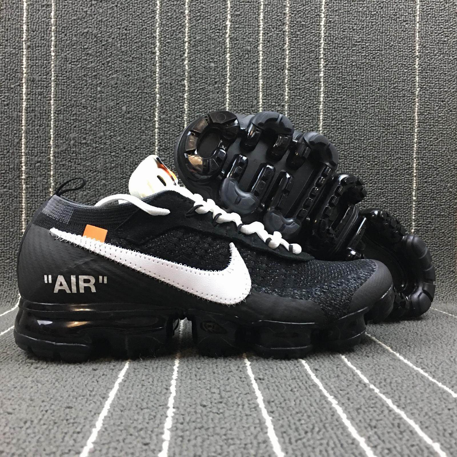 Nike Air Vapormax FK x OFF WHITE AA3831 001 Men'sWomen's Sport Fashion Running Shoes Sneakers ETA Delivery 7 14 days (Pre Order)