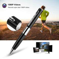 Justgogo 1080P Video & Audio Recorder Pen Support 32GB Micro SD Pen Video Recorder with USB Charging