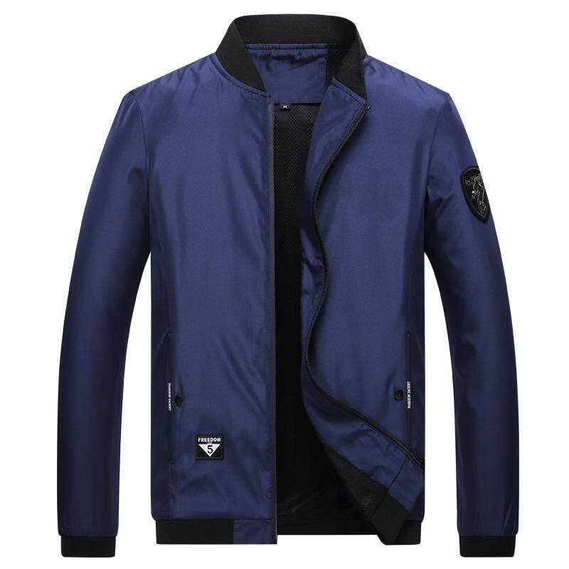 8720d98849055 Jacket Men Streetwear Windbreaker Jackets 2018 Sportswear Waterproof Casual  Outwear mens Black jackets coats male Korean