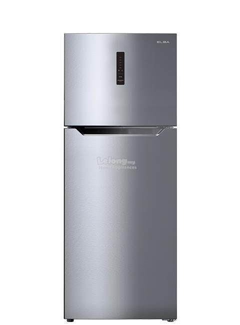 [NEW 2018] Elba 5 Star Energy Save 510Litre 2 Door Refrigerator/Fridge ER-G5143D(SV) with Front Temperature Adjust Panel