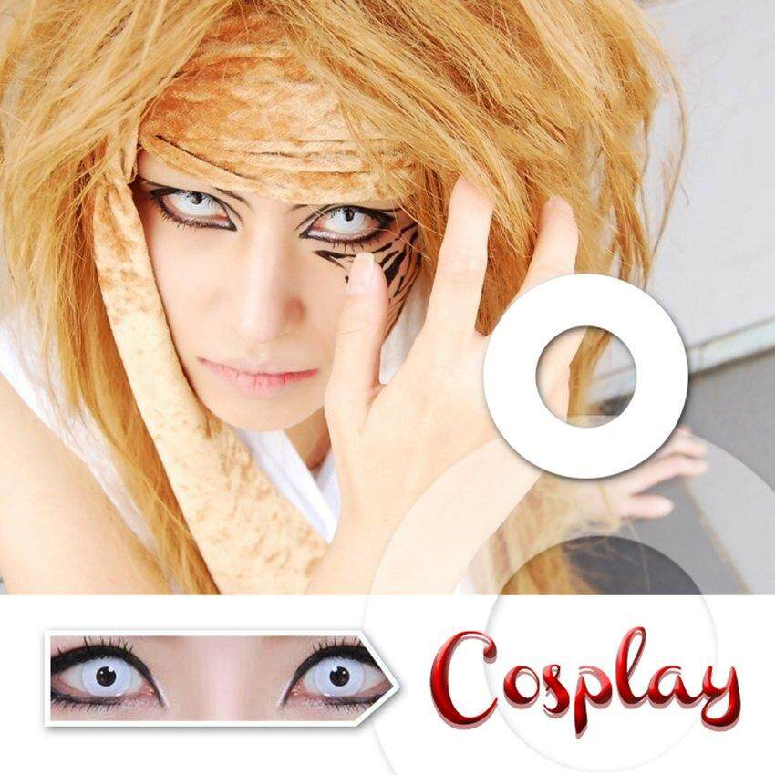 LGDS 1 pc Safe to Use Cosmetic Contact Lens Fashion for Cosplay Crazy Halloween