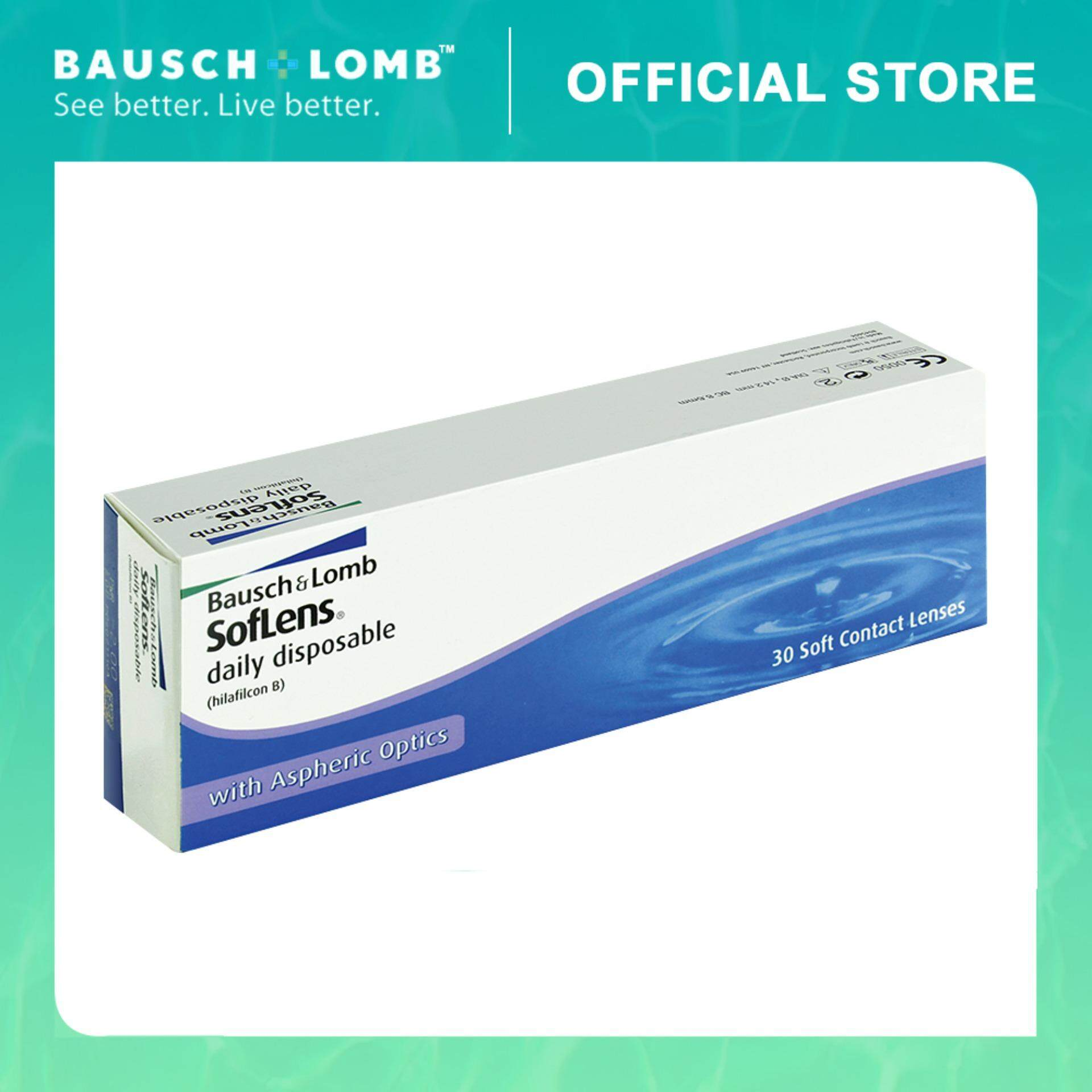 Bausch & Lomb SofLens Daily Disposable 30 Pcs Contact Lenses