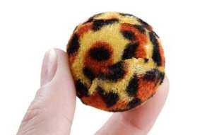 Hình ảnh Manufacturers selling cat interactive toys leopard cloth ball cat toys - intl