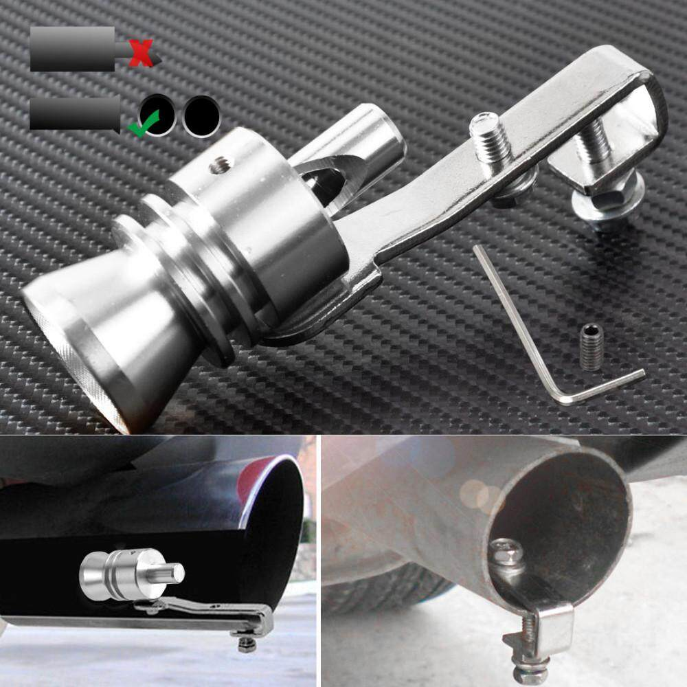 BN Vehicle Refit Device Turbo Sound Muffler Turbo Whistle Exhaust Pipe  Sounder Motorcycle Sound Imitator