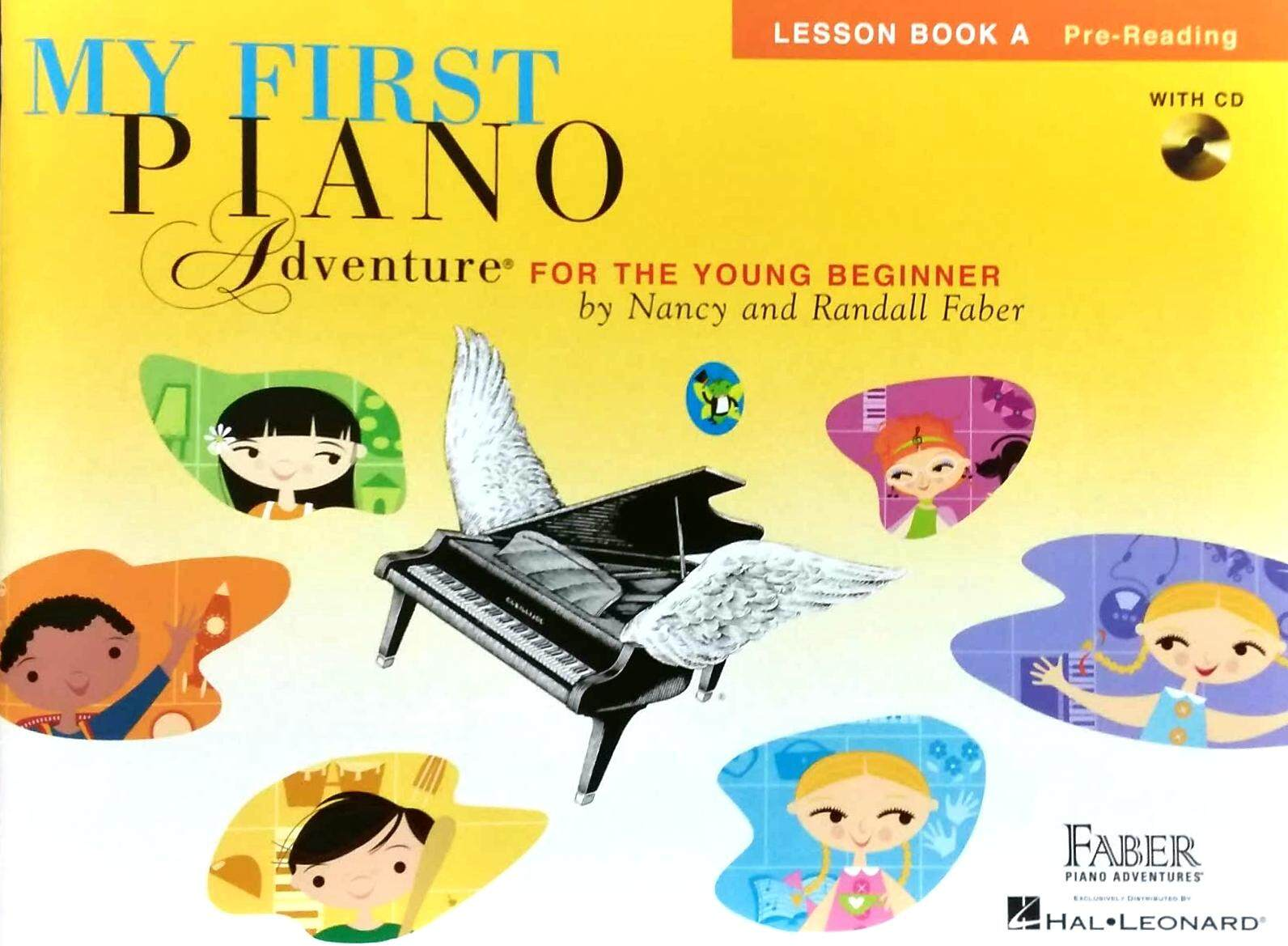 My First Piano Adventure Lesson Book A