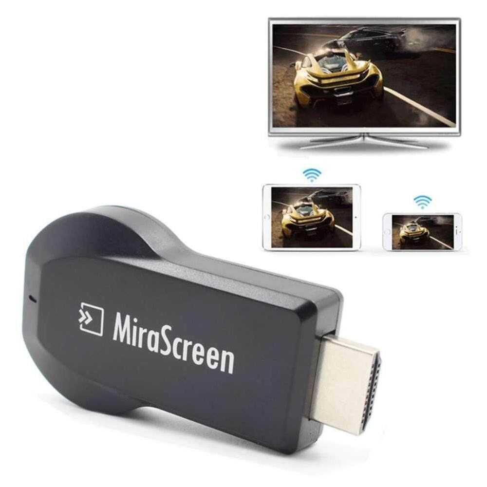 YTRI MiraScreen WiFi Display Receiver Miracast TV Dongle HDMI DLNA Airplay HD 1080P