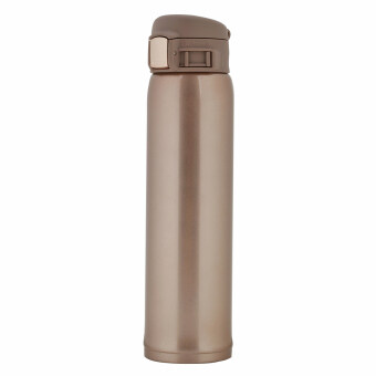Vacuum Cup Insulated Travel Coffee Mug Portable Bottle Hot or Cold Water Stainless Steel 500ml (gold)