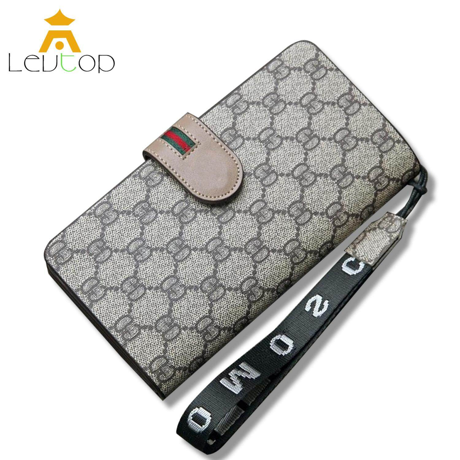LEVTOP Women Long Wallet Purse PU Leather Clutch Large Capacity Card Holder Wallet Women Hand Bag