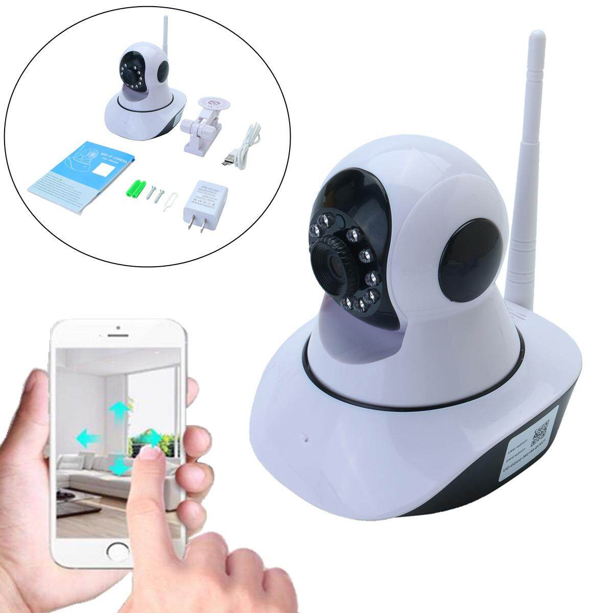 Wireless 720P WIFI IP Camera Pan Tilt Night Vision Security Network CCTV Webcam