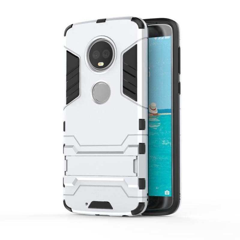 Zzooi Akabeila Stabil PC TPU Ponsel Case S untuk Moto Rola Moto G6 Plus 5.93 Inch
