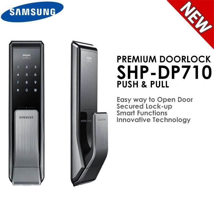 SAMSUNG DOORLOCK SHP-DP710 DIGITAL PUSH PULL - intl
