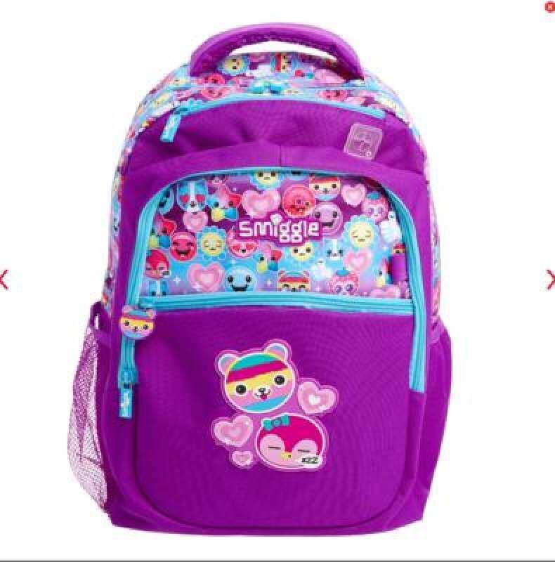 Smiggle School Backpack (30 x 42 x 13cm )-bear