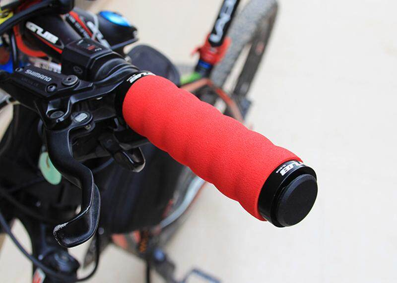 Bike Handlebar Grips MTB Lock Rubber Grips Non-Slip Bicycle Handle Grip G