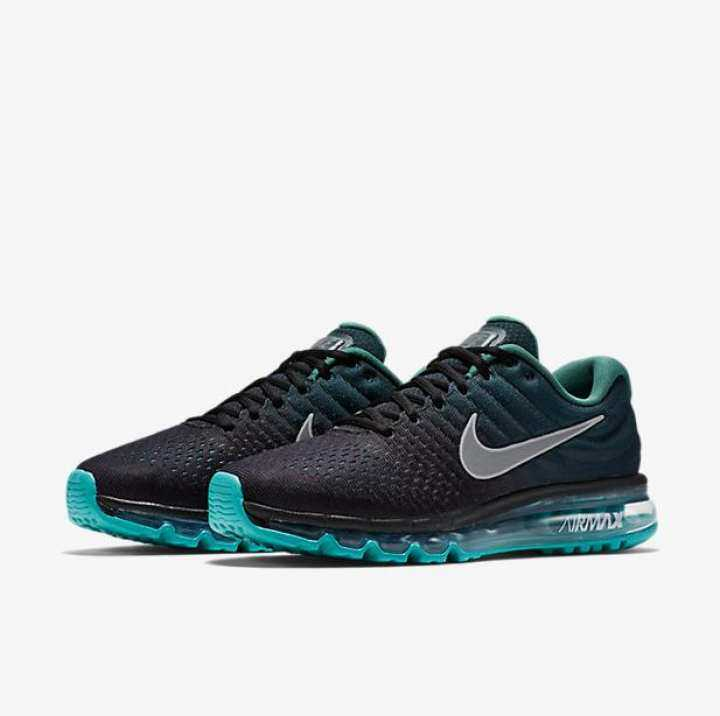 Original New 2019 Nike Official Air Max 2017 Low Top ( Navy Blue Blue ) MENS Running Shoe Casual Sneakers for Men