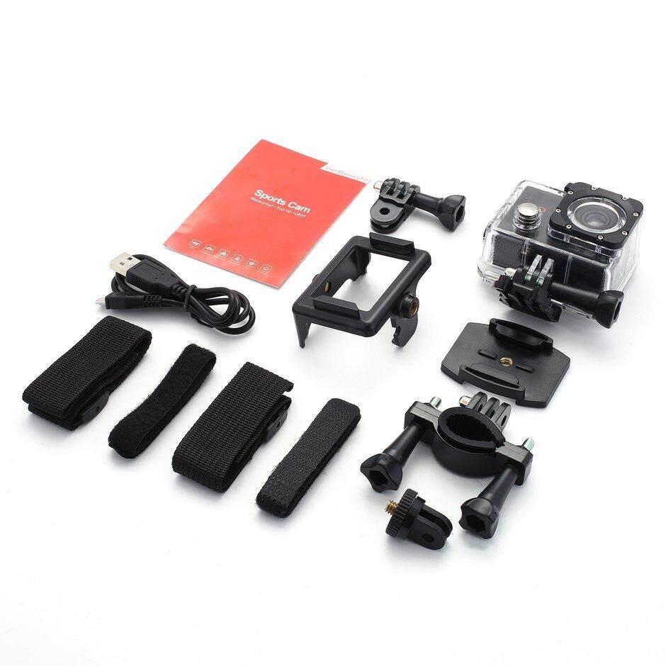 ELEC Full HD 1080P Sports Cam Waterproof Action Camera 2.0-Inch Screen Outdoor DV