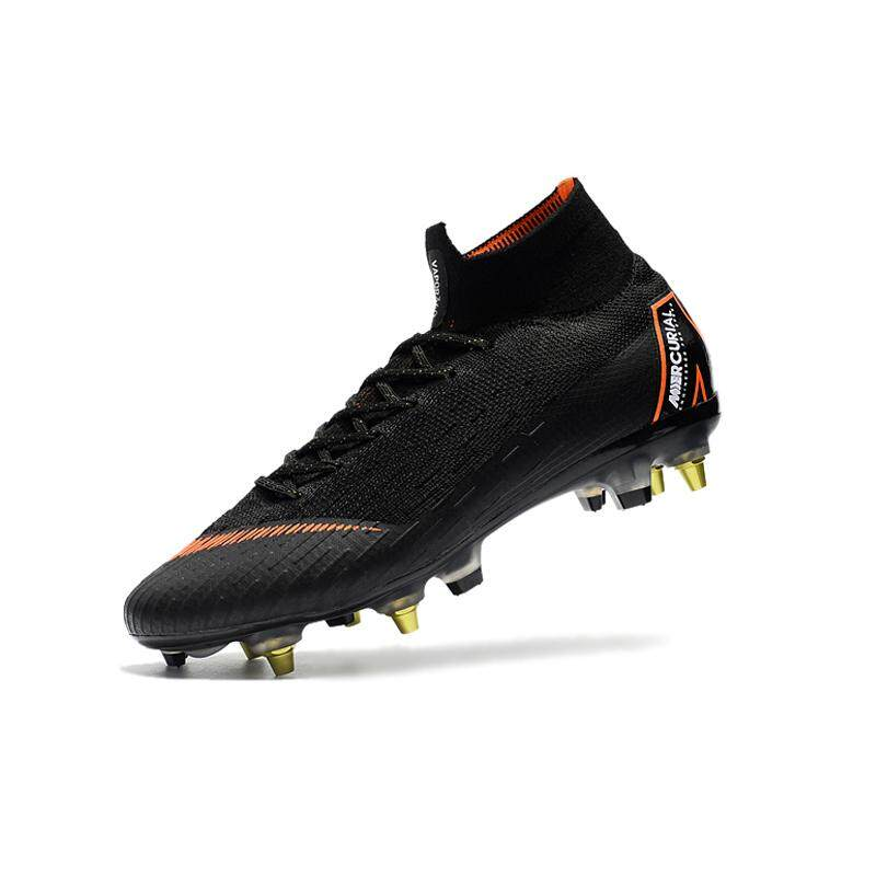 661223a946a 2018 New High Ankle Football Boots Superfly Original Knit 360 Elite SG AC Men s  Soccer Shoes