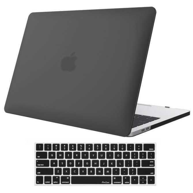 Macbook Pro 13 Inci Case 2018 & 2017 & 2016 Rilis A1706/A1708, pro Case Kulit Sarung Keras Cover dan Sarung Kulit Papan Ketik untuk Apple MacBook Pro 13 Inch dengan/Tanpa TOUCH BAR dan Touch ID