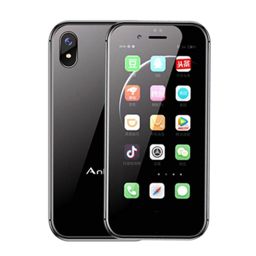 [Promotion]Anica I8 Small Pocket Android System Mini Phone Personality Smart Card Mobile Phone