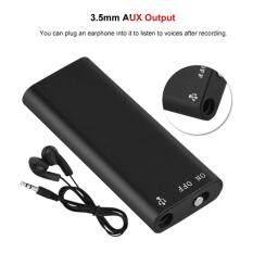 Dewin Mini USB 8 GB Bộ Nhớ Máy Ghi Âm Thanh Kỹ Thuật Số Dictaphone + MP3 Người Chơi Chuyên Nghiệp