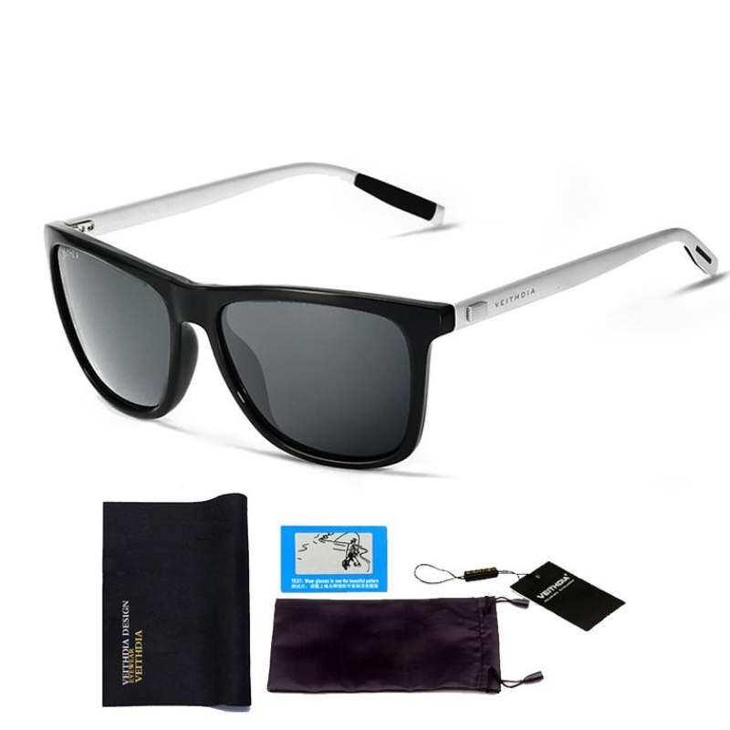 14b16fe5d2 Veithdia Aluminum+Tr90 Polarized Mens Sunglasses Brand Designer Unisex  Retro Vintage Driving Mirror Sun Glasses