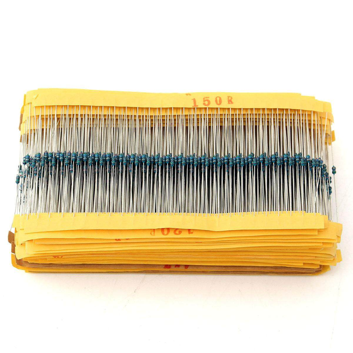 300PCS 1//8W 0.125W 1/% Metal Film Resistor 33K ohm