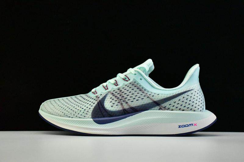 d612e2899a78 Nike Zoom Pegasus Turbo Men s Running Shoe Lightweight Sport Sneakers  (Blue Grey)