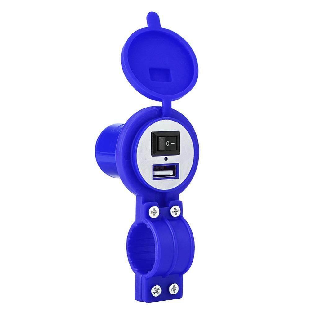 Đa năng 12-24 v Xe Máy Sạc USB Ổ Cắm Nguồn điện Cổng cho Điện Thoại Di Động Chống Thấm Nước-quốc tế