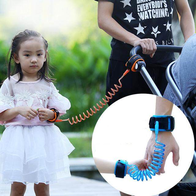 Popular Toddler Kids Baby Safety Walking Harness Anti-lost Strap Wrist Leash Children Hand Belt Rope Length 1.5m