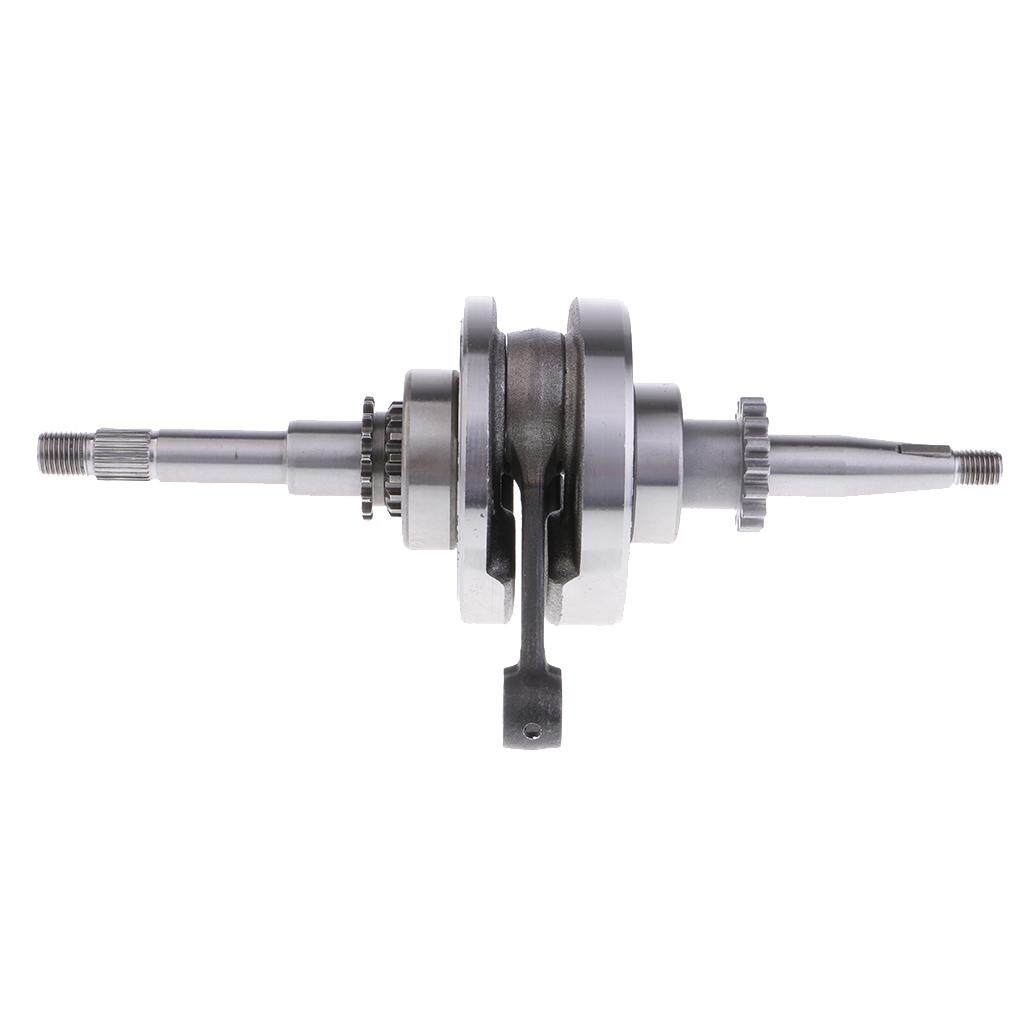 Miracle Shining 16T Crankshaft for GY6 50cc 60cc 80cc 100cc QMB139 Honda Chinese Scooter ATV - intl