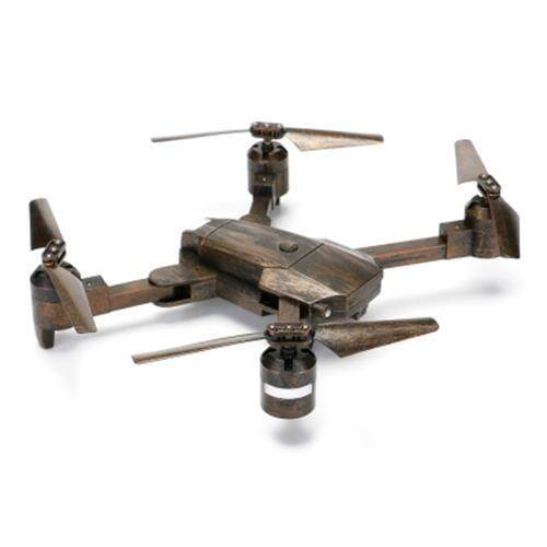 ATTOP XT - 1 FOLDABLE RC DRONE WIFI FPV CAMERA / ALTITUDE HOLD / HEADLESS MODE / 360-DEGREE FLIP (BRONZE) Toys for boys