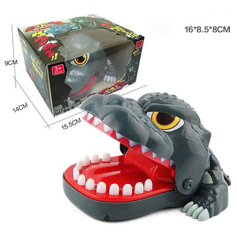 Mouth Dentist Bite Finger Toy Large Crocodile Pulling Teeth Bar Games Toys