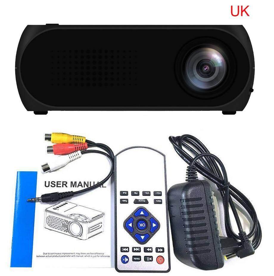Bessky YG320 HD 1080 P Rạp Hát Tại Nhà USB HDMI AV VGA SD Mini Di Động ĐÈN LED Máy Chiếu Đa Năng